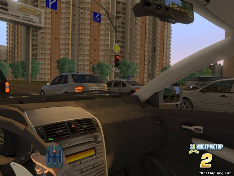 Описание: Новый учебный автосимулятор является Название: 3D Инструктор